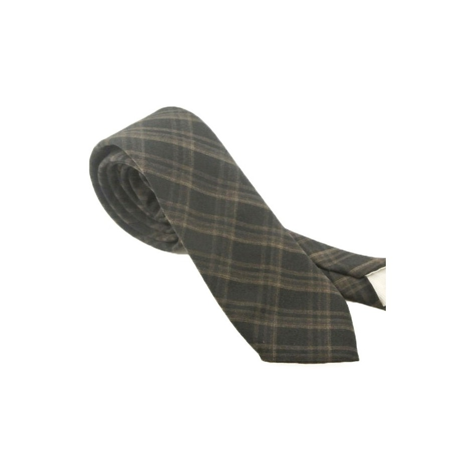 Jimmy black wool tie