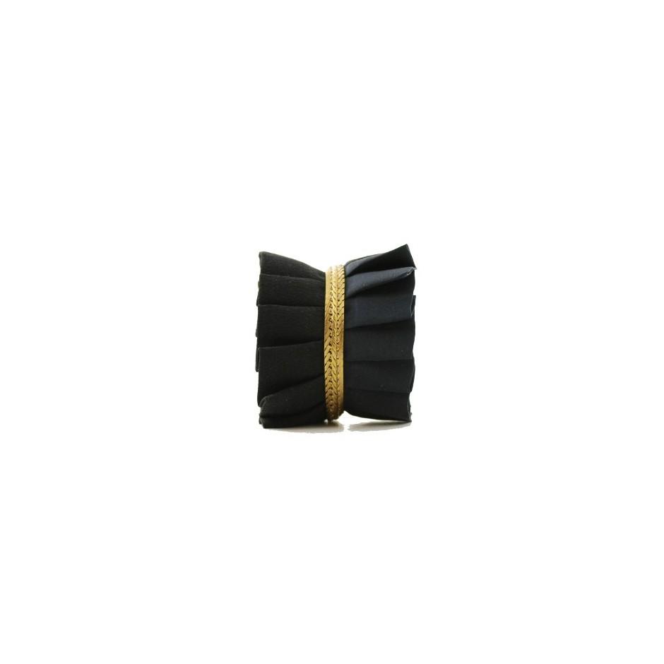 Hawaii black and blue cuff bracelet