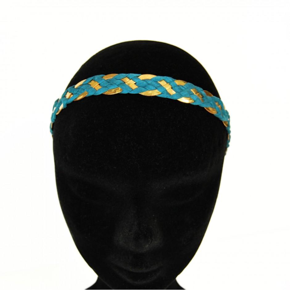 Headband Inna bleu canard