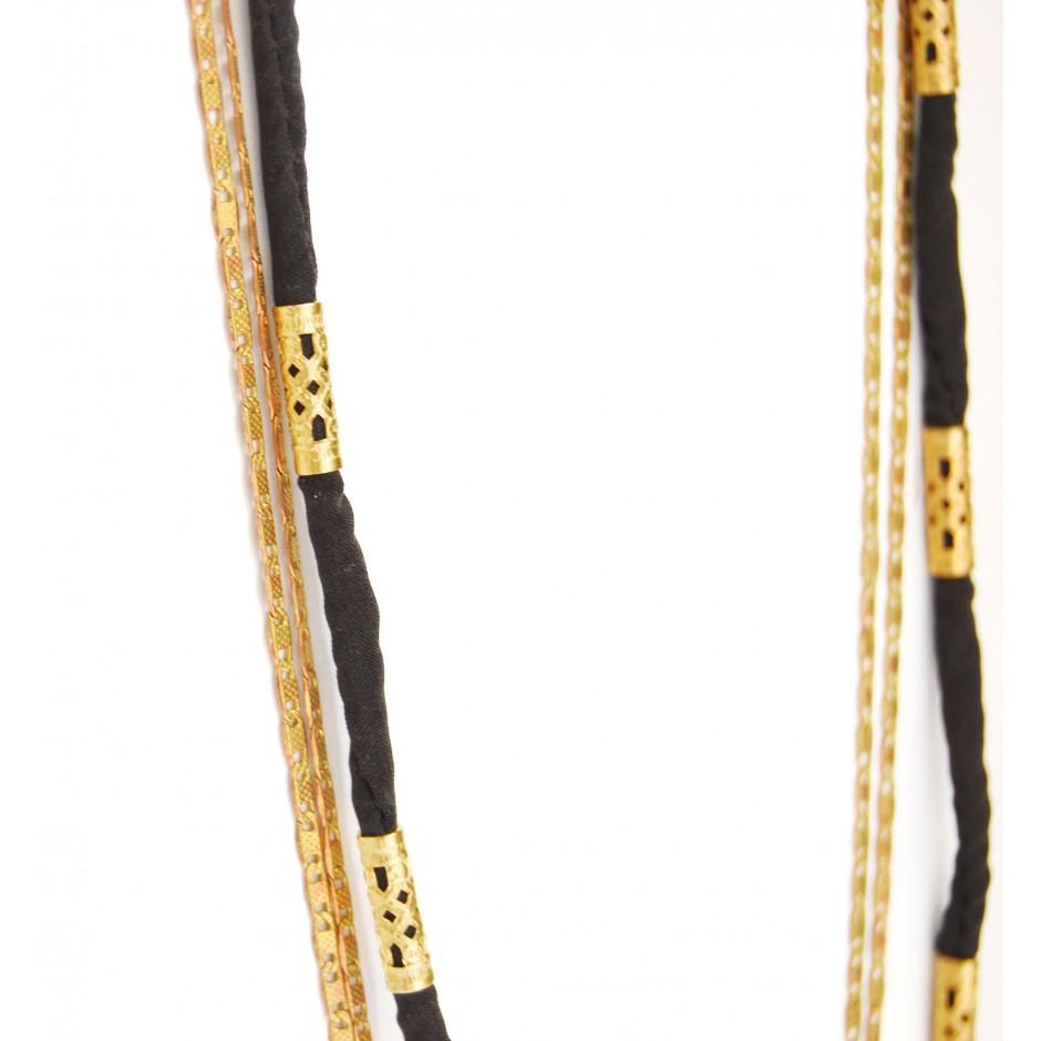 Sautoir Alexandrie noir