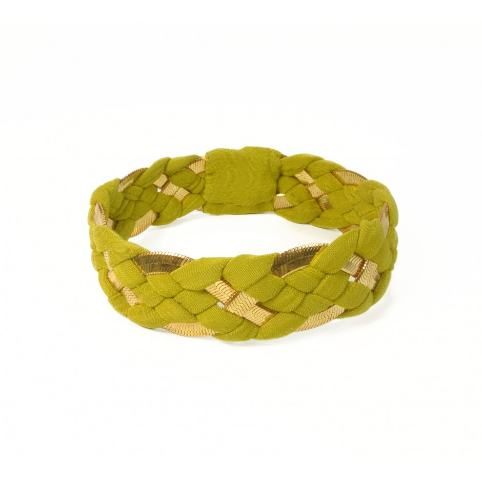 Inna lime green bracelet
