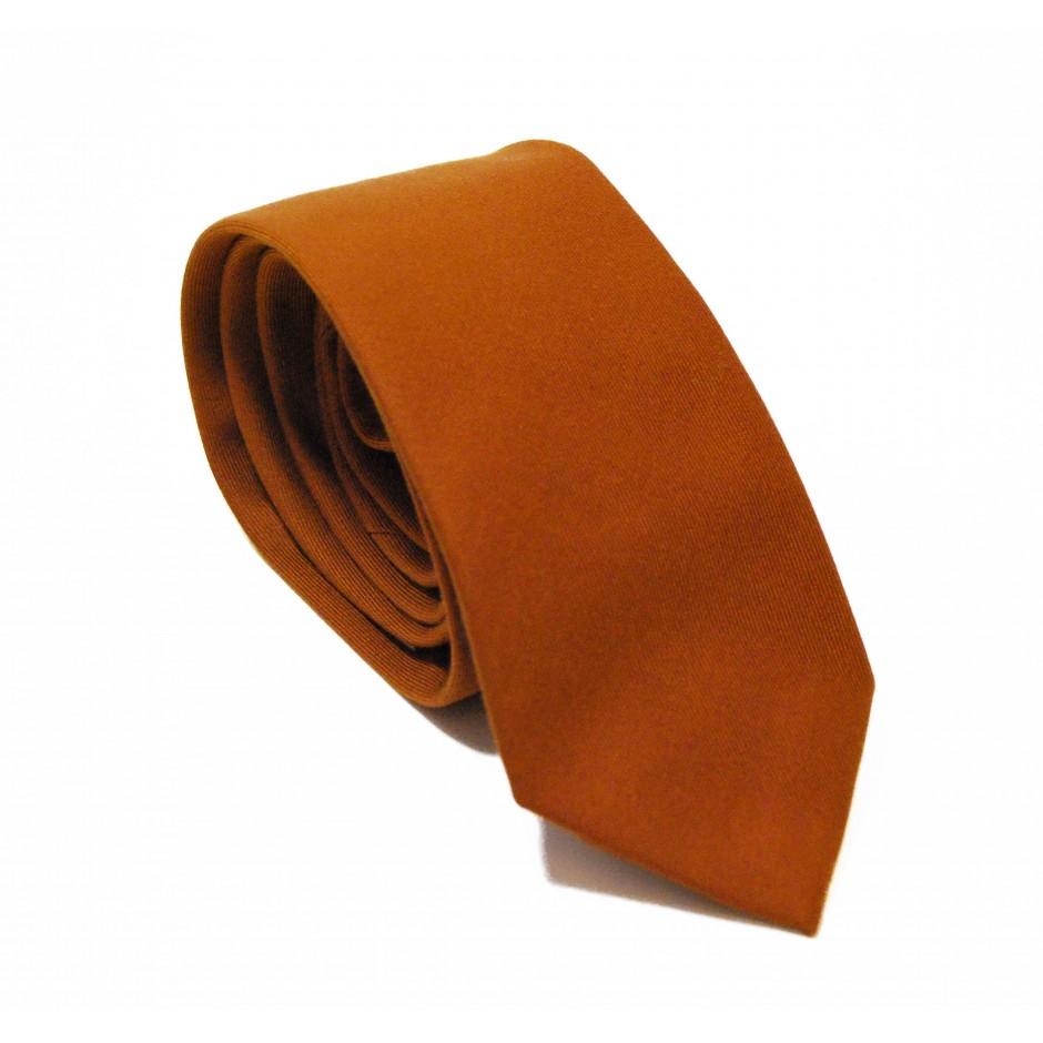 Cravate ocre Enée