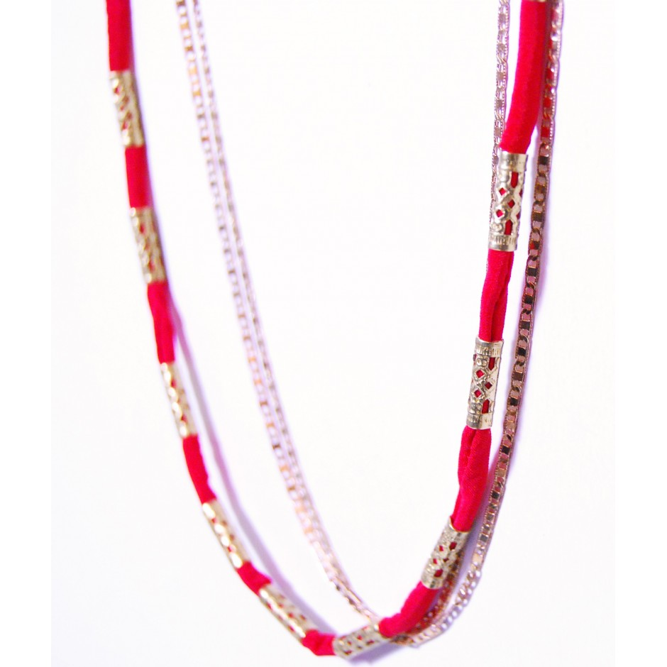 Alexandrie red coral chain