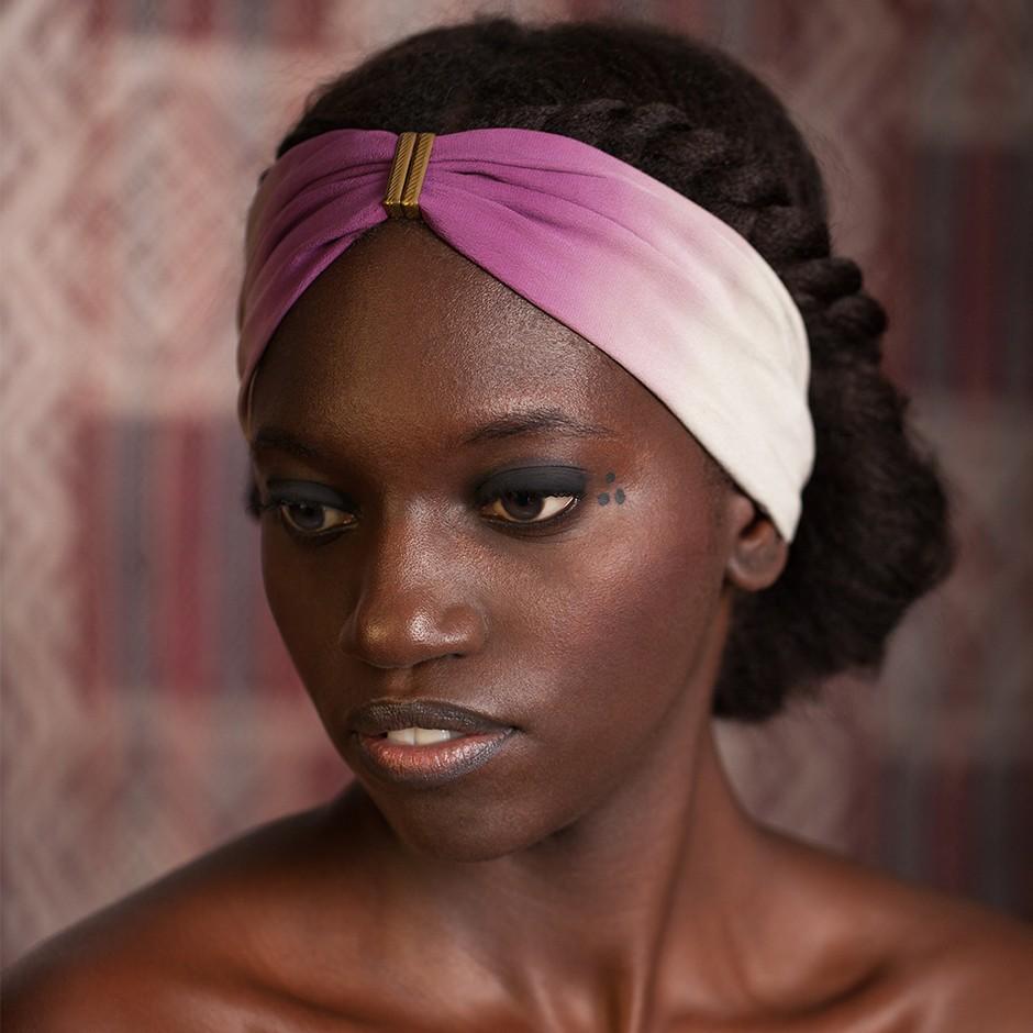 Denise pink headband