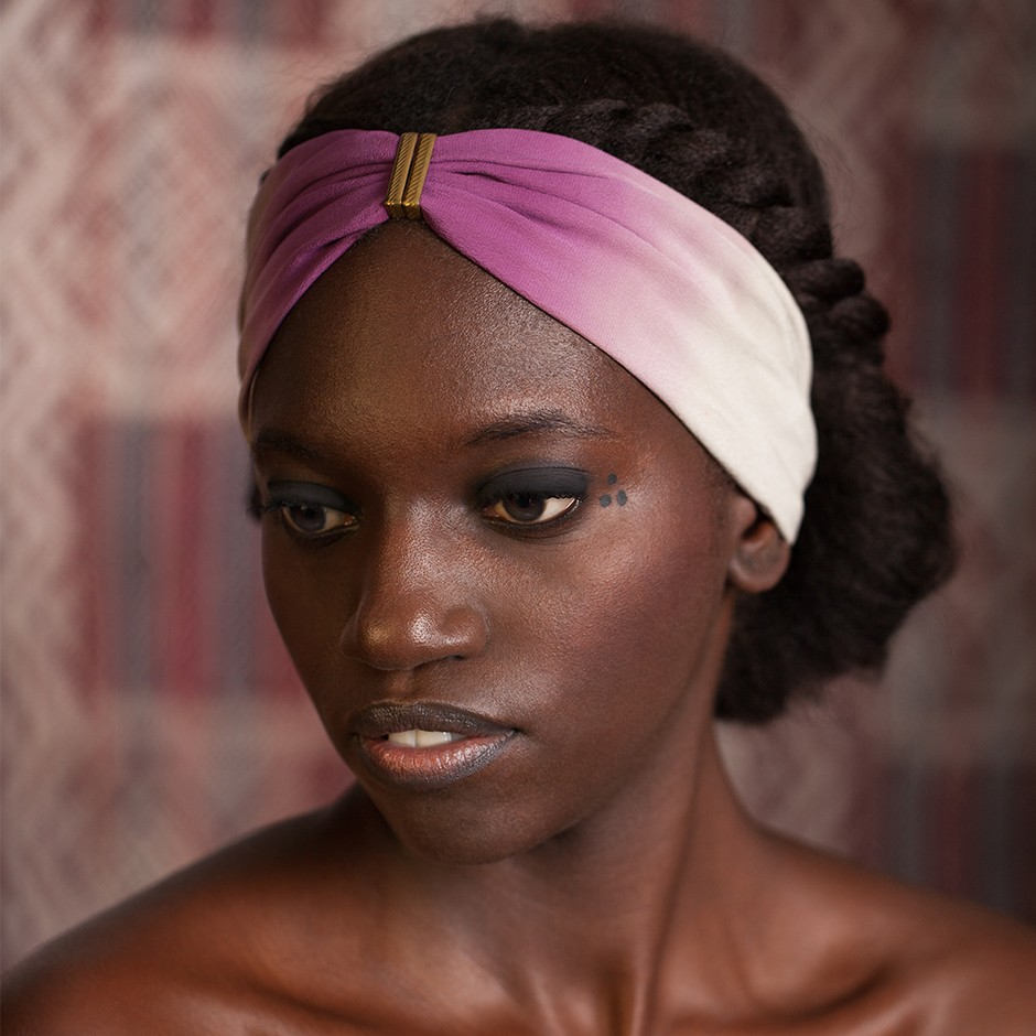 Headband Denise rose