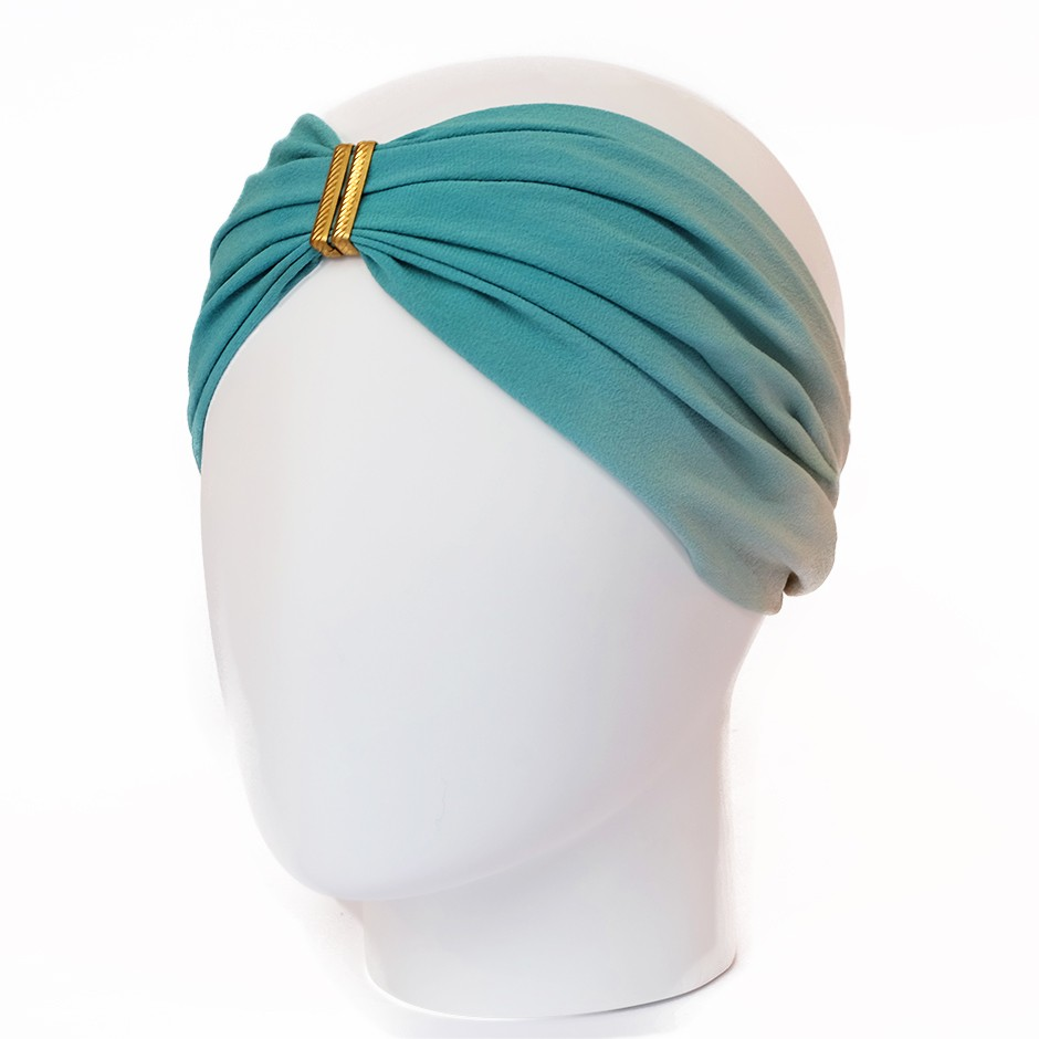 headband Rosine blanc fleuri
