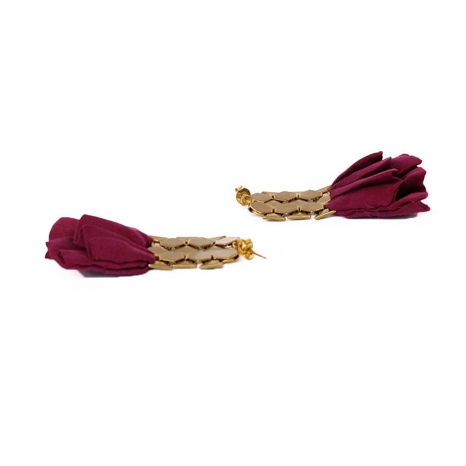 Boucles d'oreilles Hula Violines