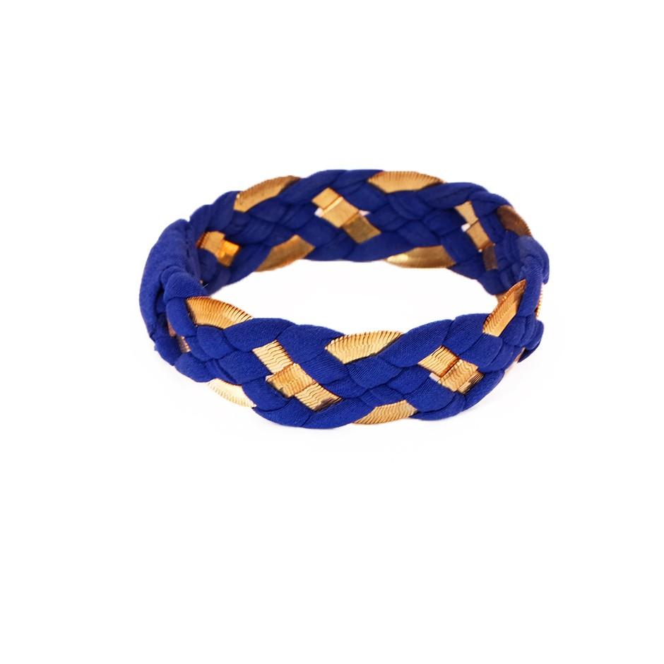 Bracelet Inna bleu électrique