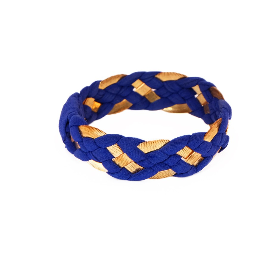 Inna electric blue bracelet