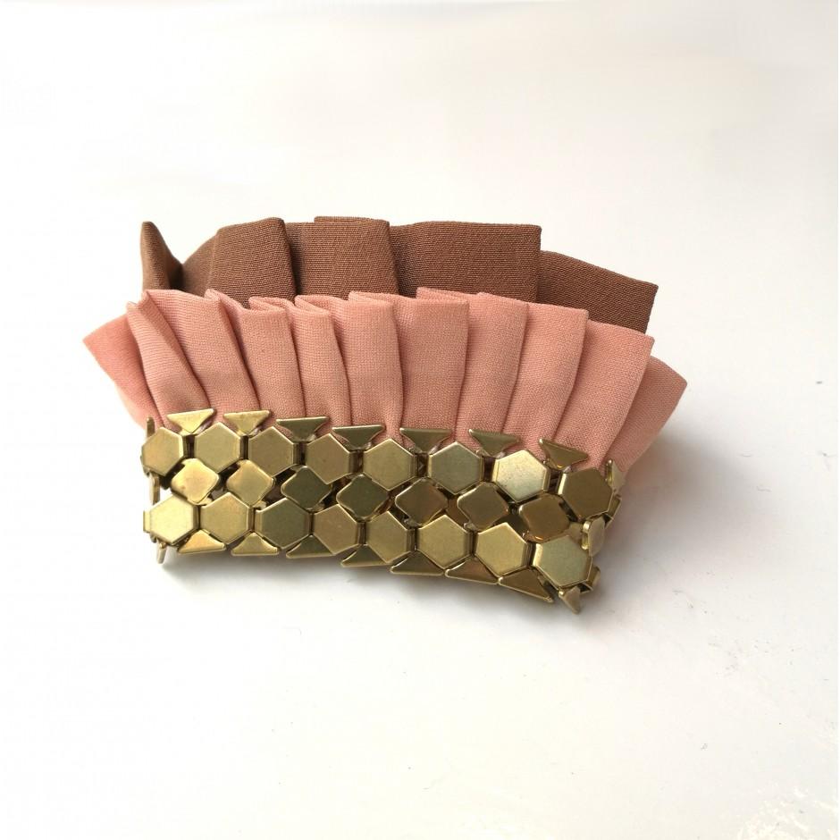 Hula pink cuff bracelet