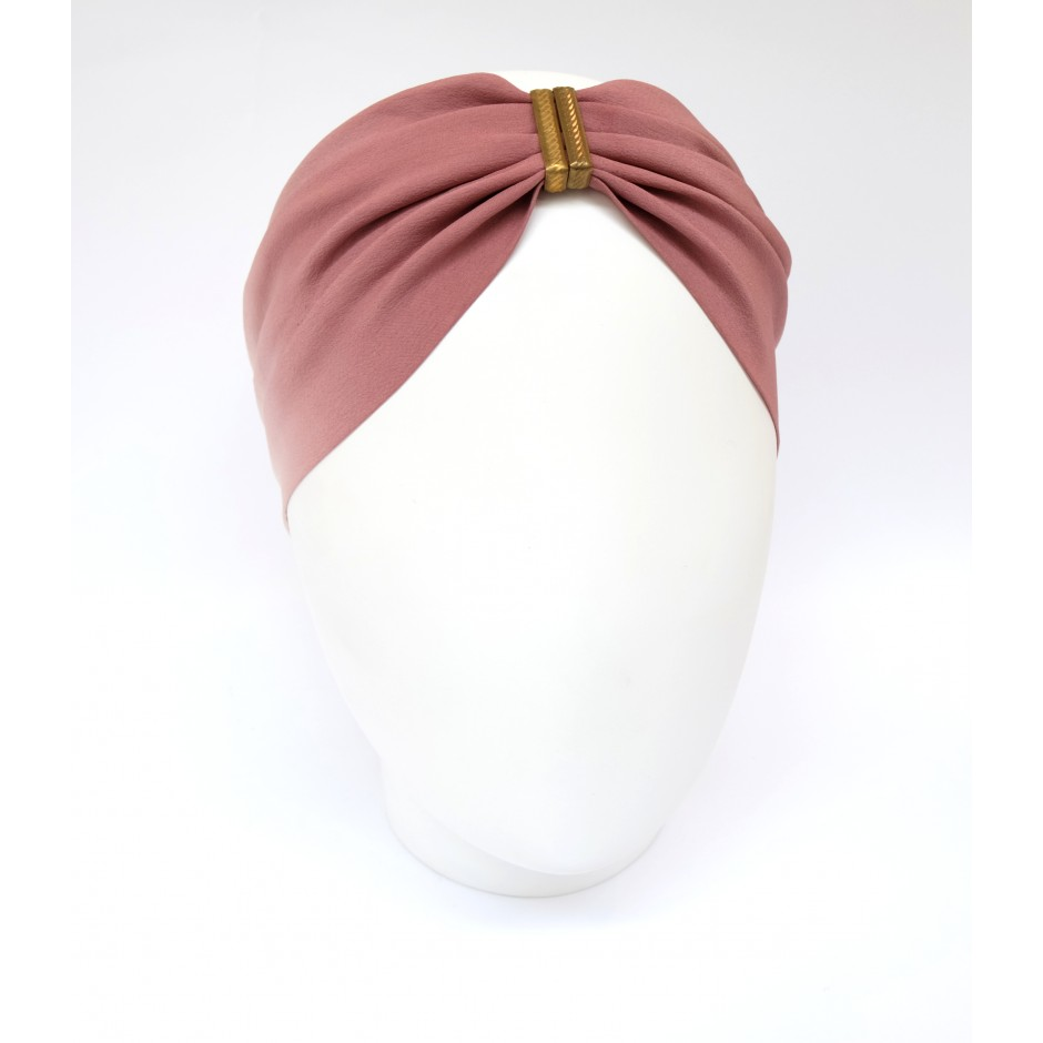 Denise dark purple headband