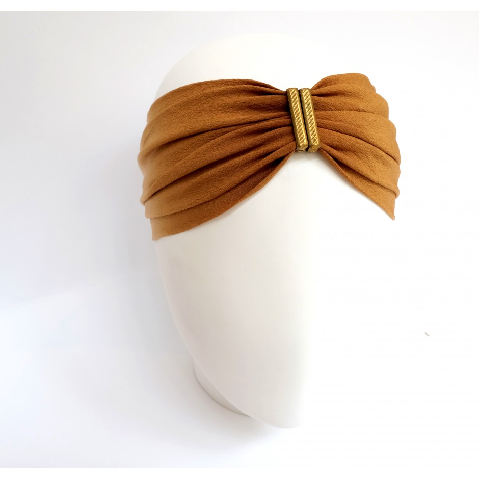 Headband Denise camel