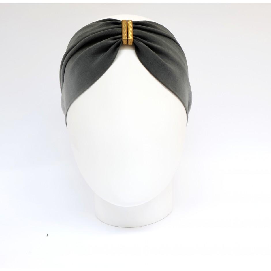 Denise dark purple headband