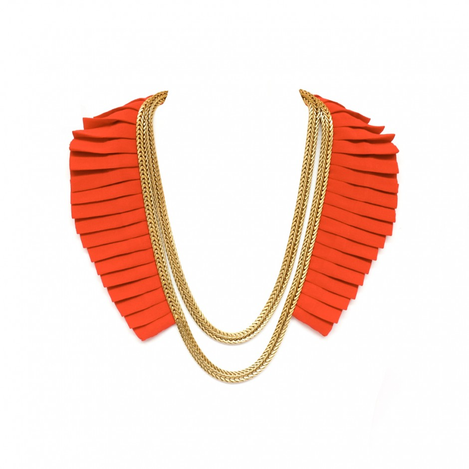 Collier Isis rouge