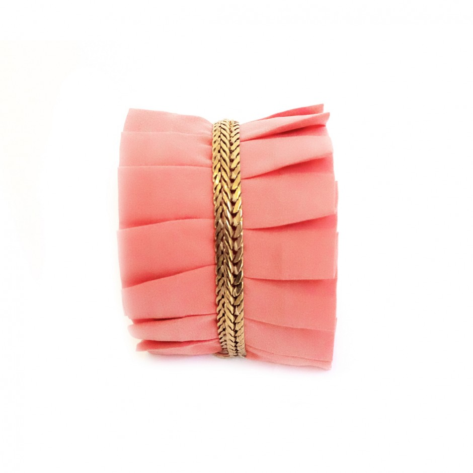 Hawaii pink cuff bracelet