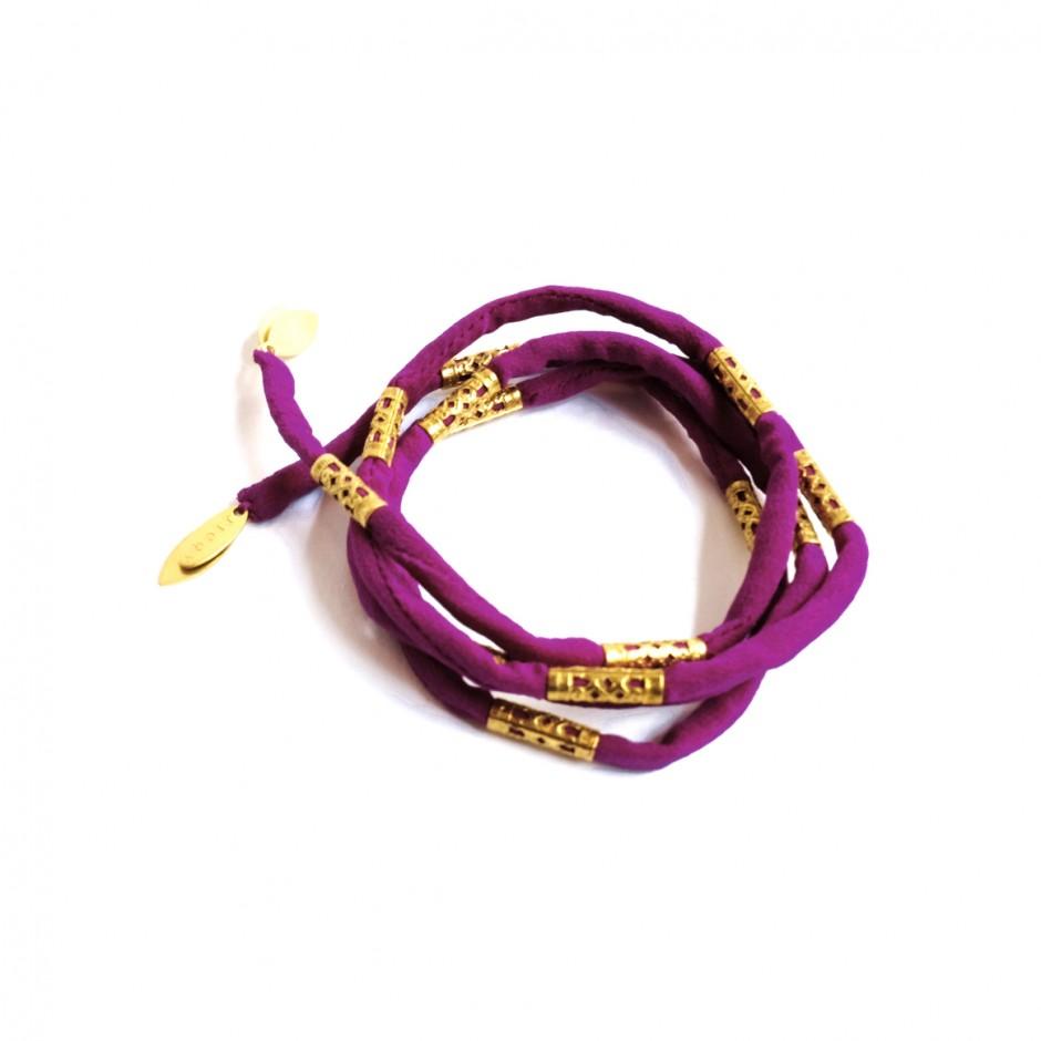 Bracelet Pharos fuchsia violet