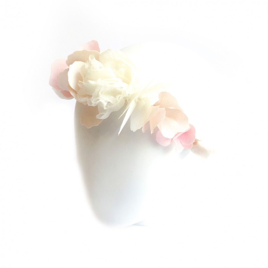 White Flower Ribbon