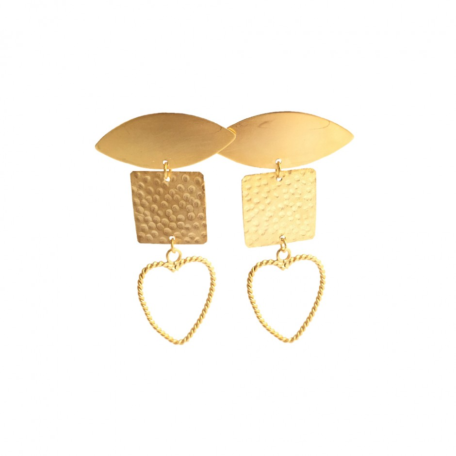 Earrings Tryptique