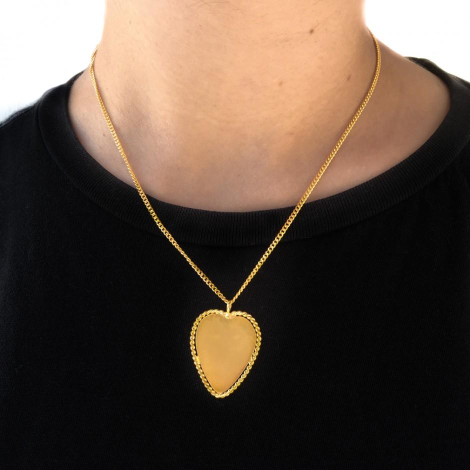 necklace pendant Coeur