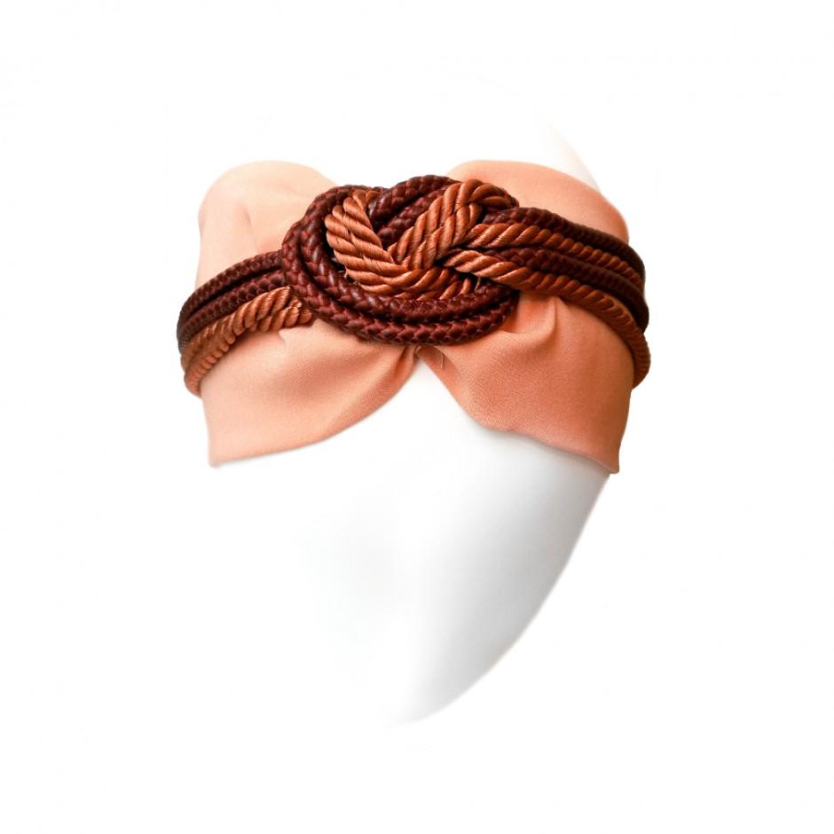 Marine sand Headband