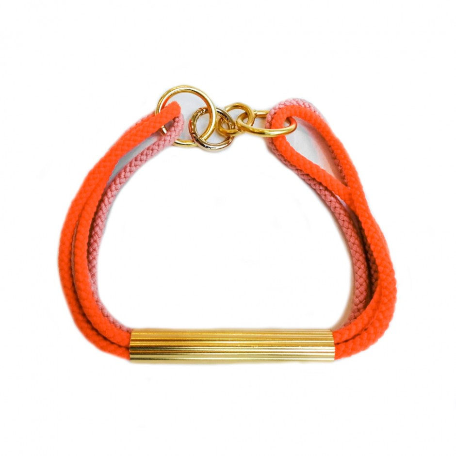 Collier Olmec orange