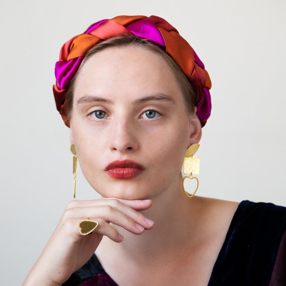 Earrings Tryptique