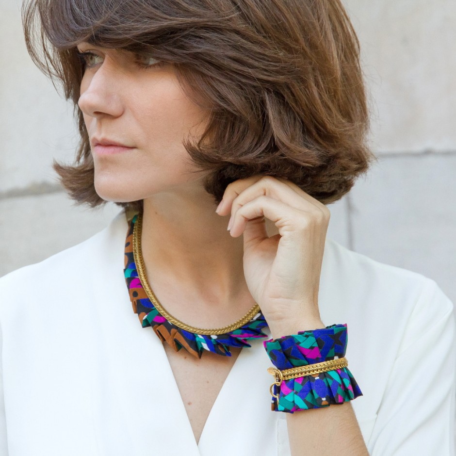 Hawaii green cuff bracelet
