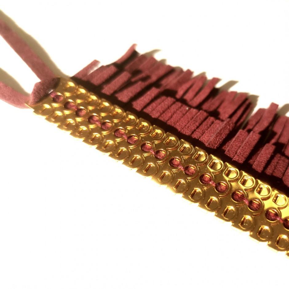 Burgundy Bracelet George Frange