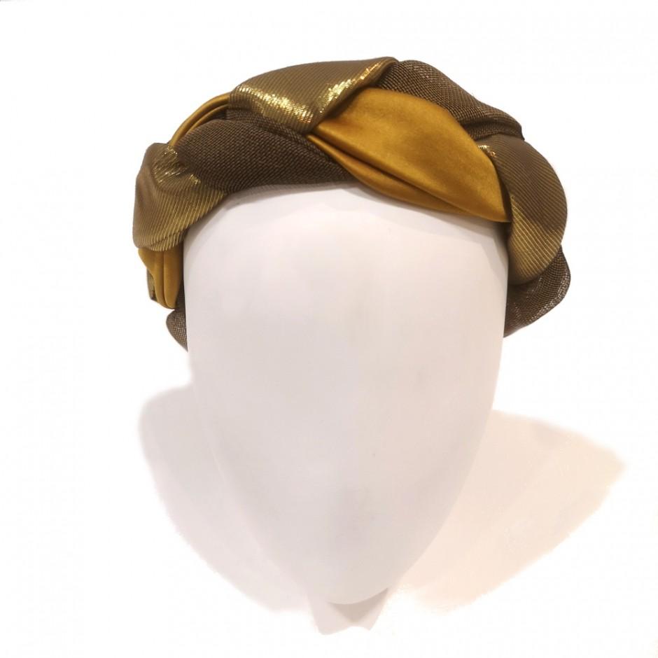 Pink headband braid