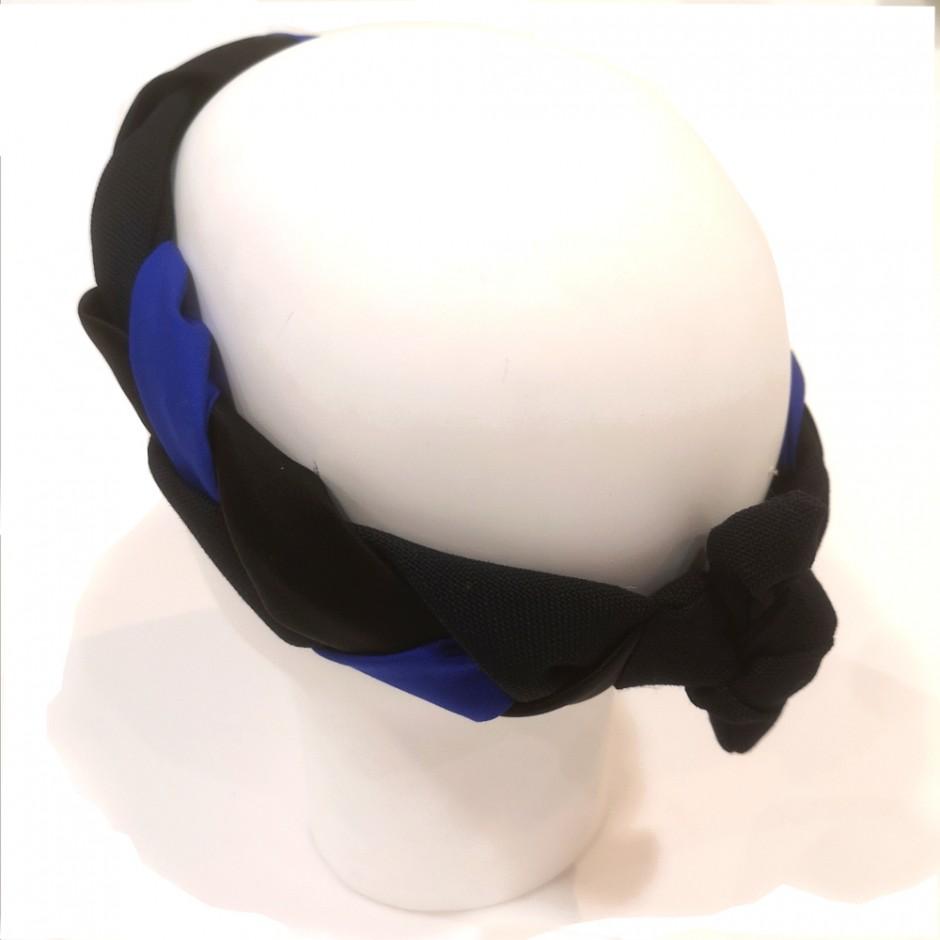 blue headband  Tresse