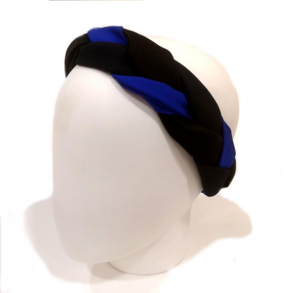 Tresse bleue