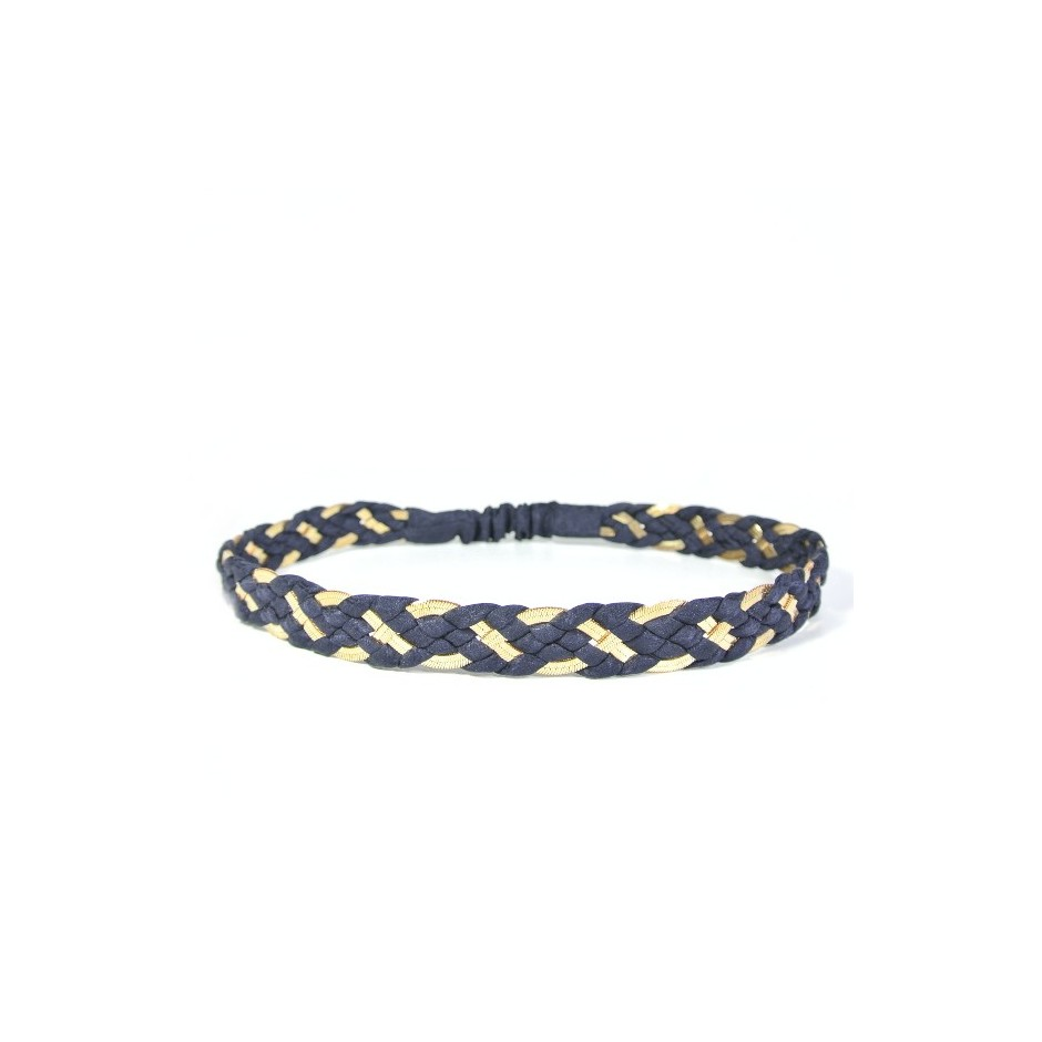 Inna navy blue headband